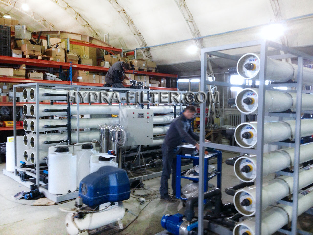 Reverse osmosis production