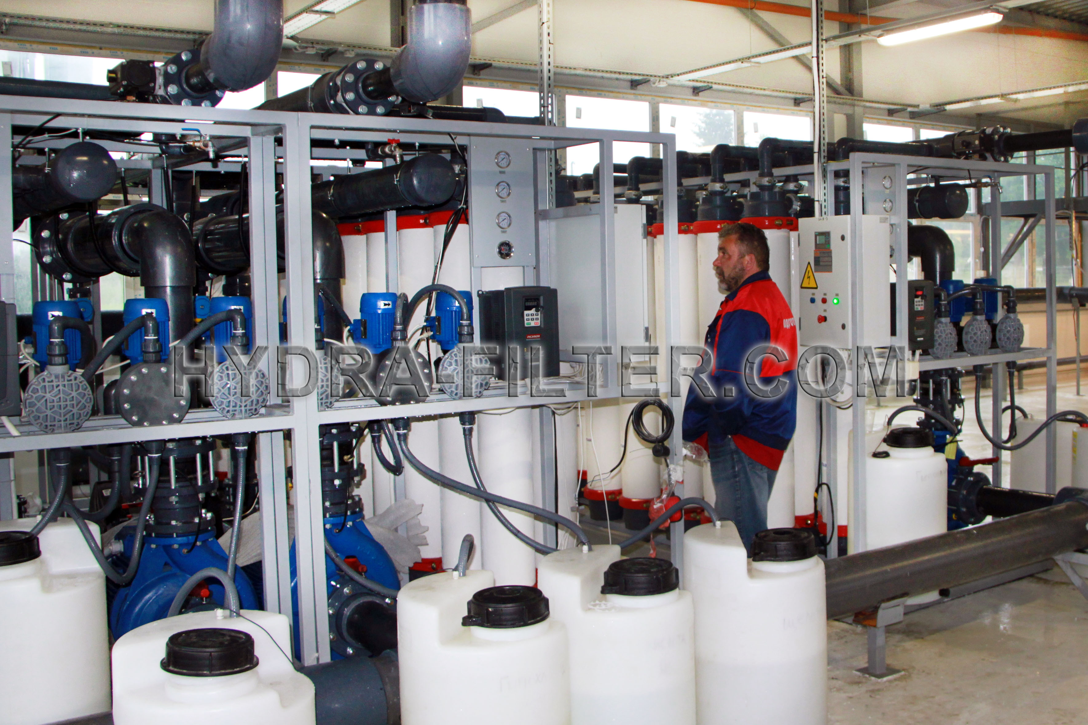 Ultrafiltration production